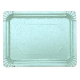 Bandeja Carton Celeste Estampada 30X40Cm 1 Uni