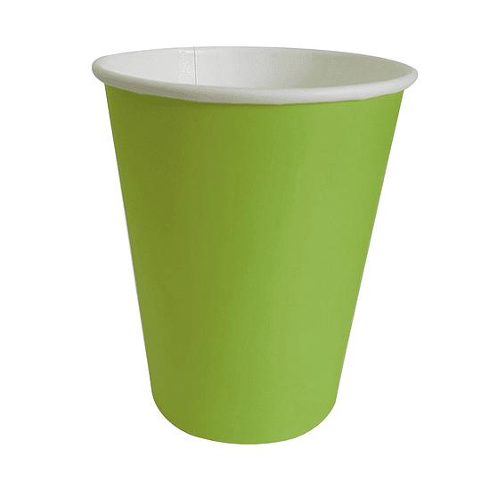 Vaso Polipapel 250Cc Verde Lima20 Uni