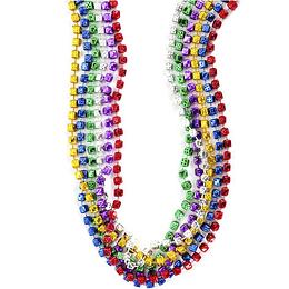 Collar Dados Colores 6 Uni