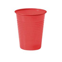 Vaso Plastico Rojo 300 Cc 50 Uni