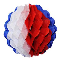 Deco Esfera Colmena Tricolor 30Cm 1 Uni