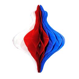 Deco Trompo Tricolor 25Cm 1 Uni