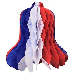 Deco Campana Tricolor 30Cm 1 Uni