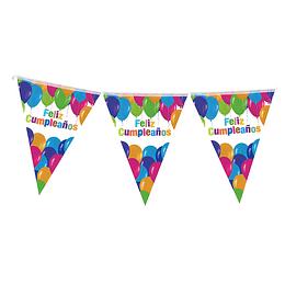 Guirnalda Banderines Feliz Cumpleaños 1 Uni