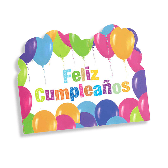 Tarjeta Invitacion Feliz Cumpleaños 6 Uni