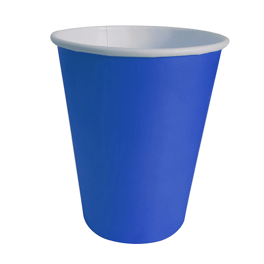 Vaso Polipapel 250Cc Azul 20 Uni