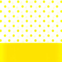 Mantel Puntos Amarillo 1 Uni