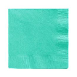 Servilleta Color Turquesa 20 Uni