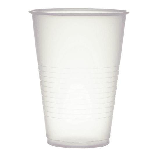 Vaso Plastico Transparente 300 Cc 25Uni