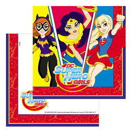 Servilletas Dc Super Hero Girls 12 Uni