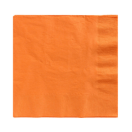 Servilleta Color Naranja 20 Uni