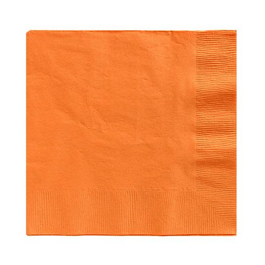 Servilleta Color Naranja 20 Uni