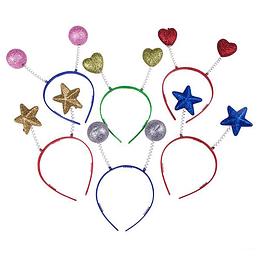 Cintillo Formas Glitter 6 Un