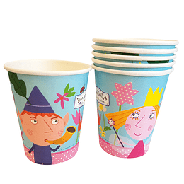 Vasos Ben & Holly 6 Uni
