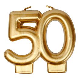 Vela Dorada 50 Años 1 Uni
