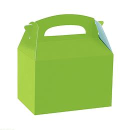 Cajita Tipo Maletin Verde 6 Uni