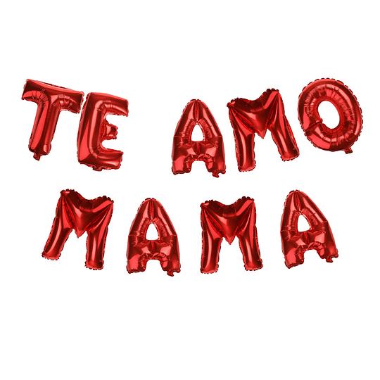 Globo Letras 40Cm Rojas
