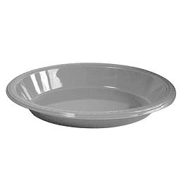 Bowl Ovalado Plateado 5 Uni