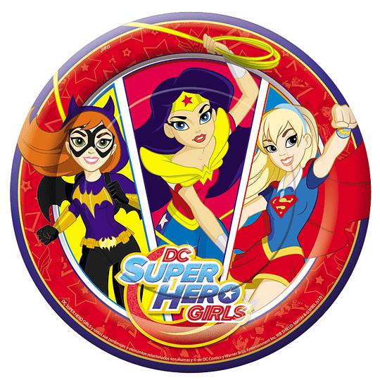 Platos Dc Super Hero Girls 6 Uni