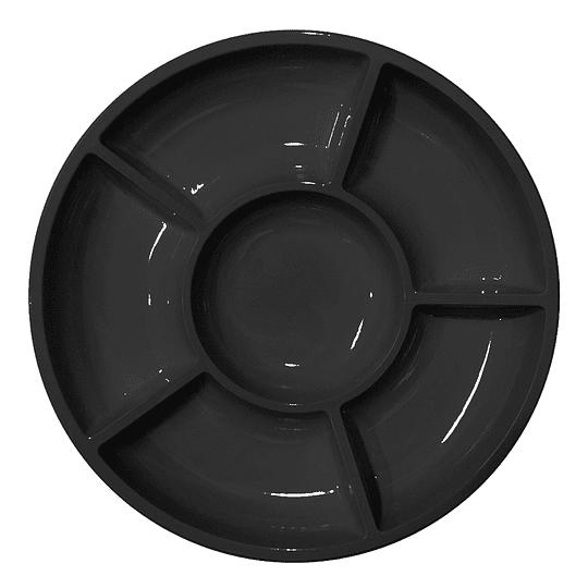 Bandeja Cocktail Glam Negro 3 Uni