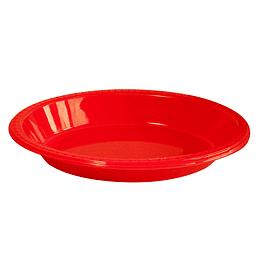 Bowl Ovalado Roja 5 Uni