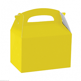 Cajita Tipo Maletin Amarillo 6 Uni