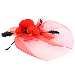 Mini Sombrero Tocado Colores 1 Uni
