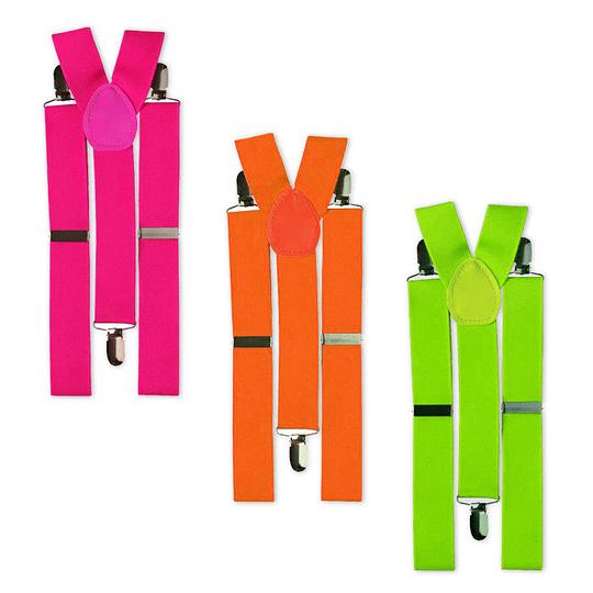 Suspensores Fluorescentes Colores Surtidos 1 Uni