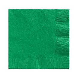 Servilleta Color Verde Oscuro 20 Uni
