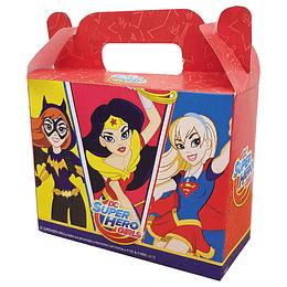 Cajita Con Cierre Maletin Super Hero Girls 6 Uni