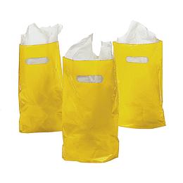 Bolsas Para Dulces Color Amarillo 10 Uni