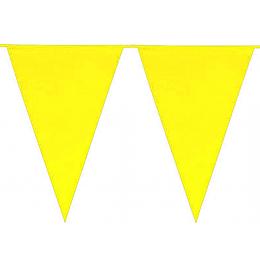 Guirnalda 10 Banderines Amarillos 1 Uni