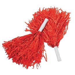 Porra Plastica Roja 2 Uni