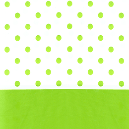 Mantel Puntos Verde Lima 1 Uni