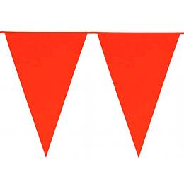 Guirnalda 10 Banderines Rojos 1 Uni