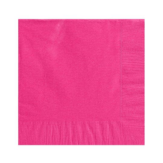 Servilleta Color Fucsia 20 Uni