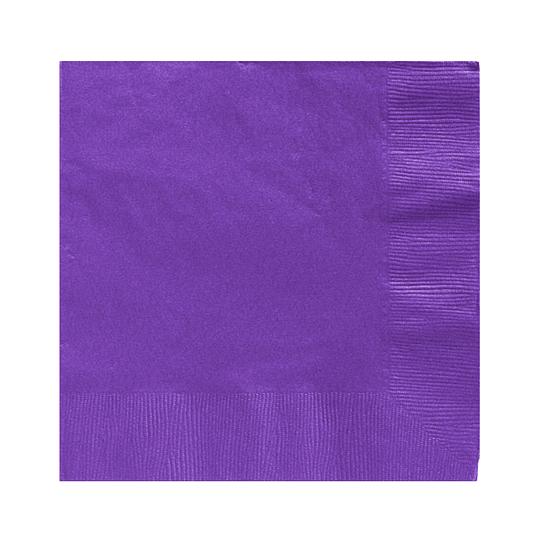 Servilleta Color Violeta 20 Uni