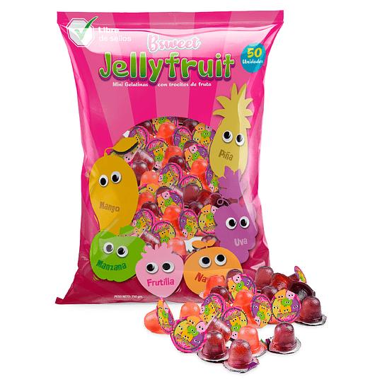 Bolsa Mini Gelatinas Con Fruta 50 Uni