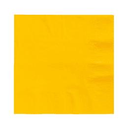 Servilleta Color Amarillo 20 Uni