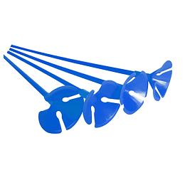 Set Varilla Y Base Portaglobos Azul 10 Uni