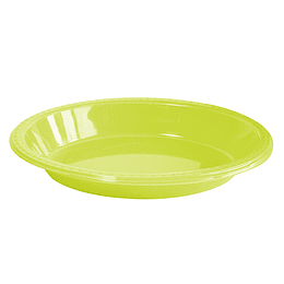 Bowl Ovalado Verde Lima 5 Uni