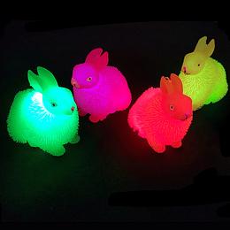 Conejo Puffer Con Luz 1 Uni