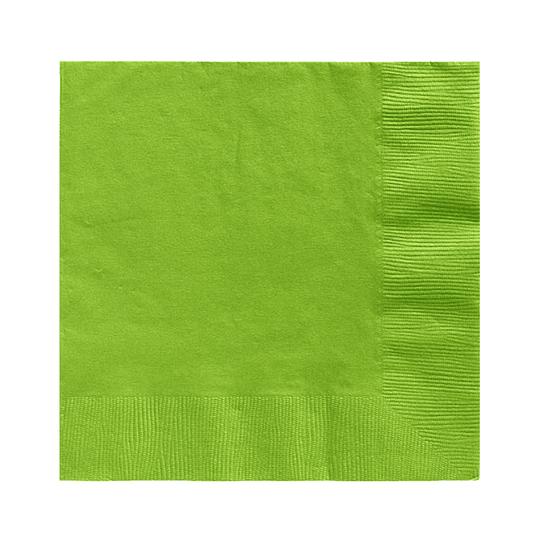 Servilleta Color Verde Lima 20 Uni