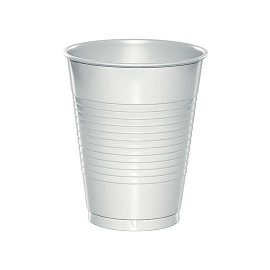 Vaso Plastico 300Cc Blanco 50 Uni