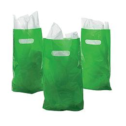 Bolsas Para Dulces Color Verde Lima 10 Uni
