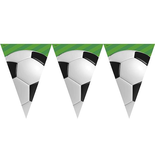 Guirnalda 10 Banderines Futbol 1 Uni