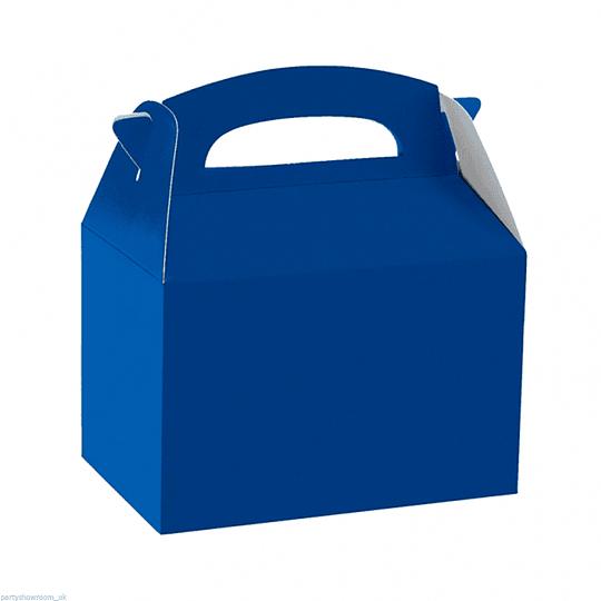 Cajita Tipo Maletin Azul 6 Uni