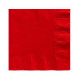 Servilleta Color Roja 20 Uni