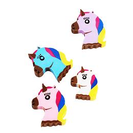 Gomas De Borrar Unicornio 8 Uni