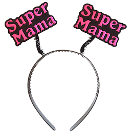 Cintillo Super Mama 1 Uni